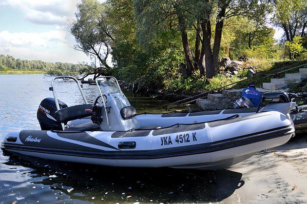 Nový balíček výbavy nafukovacího motorového člunu Adventure V-500, modelový rok 2017: SUPER-LUX.