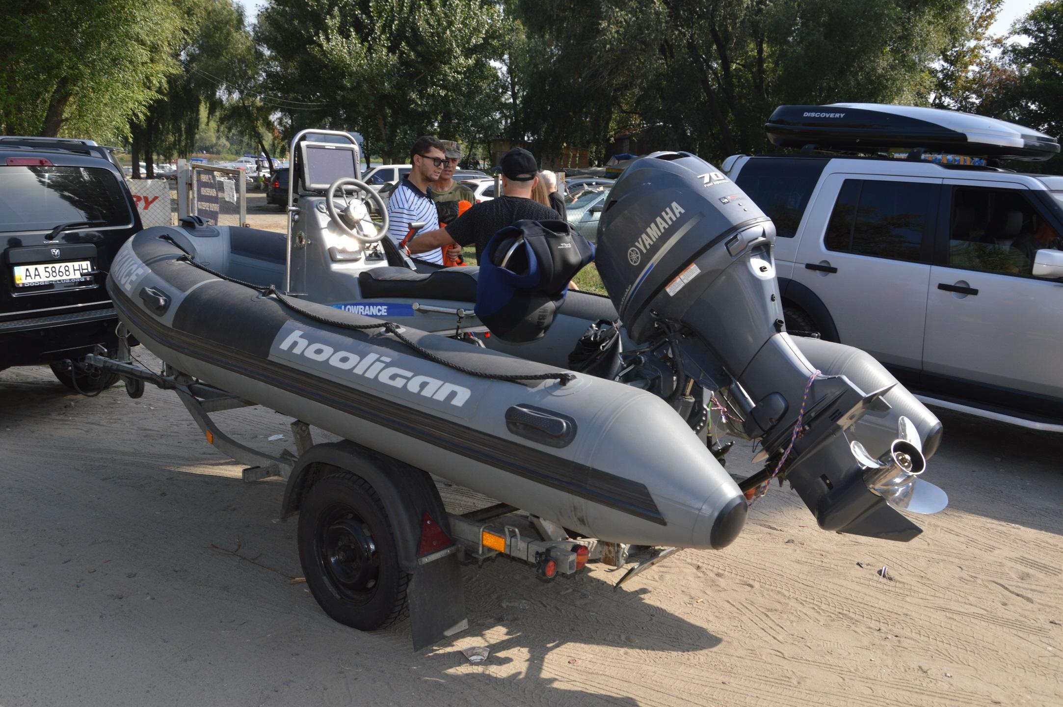 Nafukovací motorový člun RIB, Adventure V-380 Sport s lodním motorem Yamaha o výkonu 70 koní