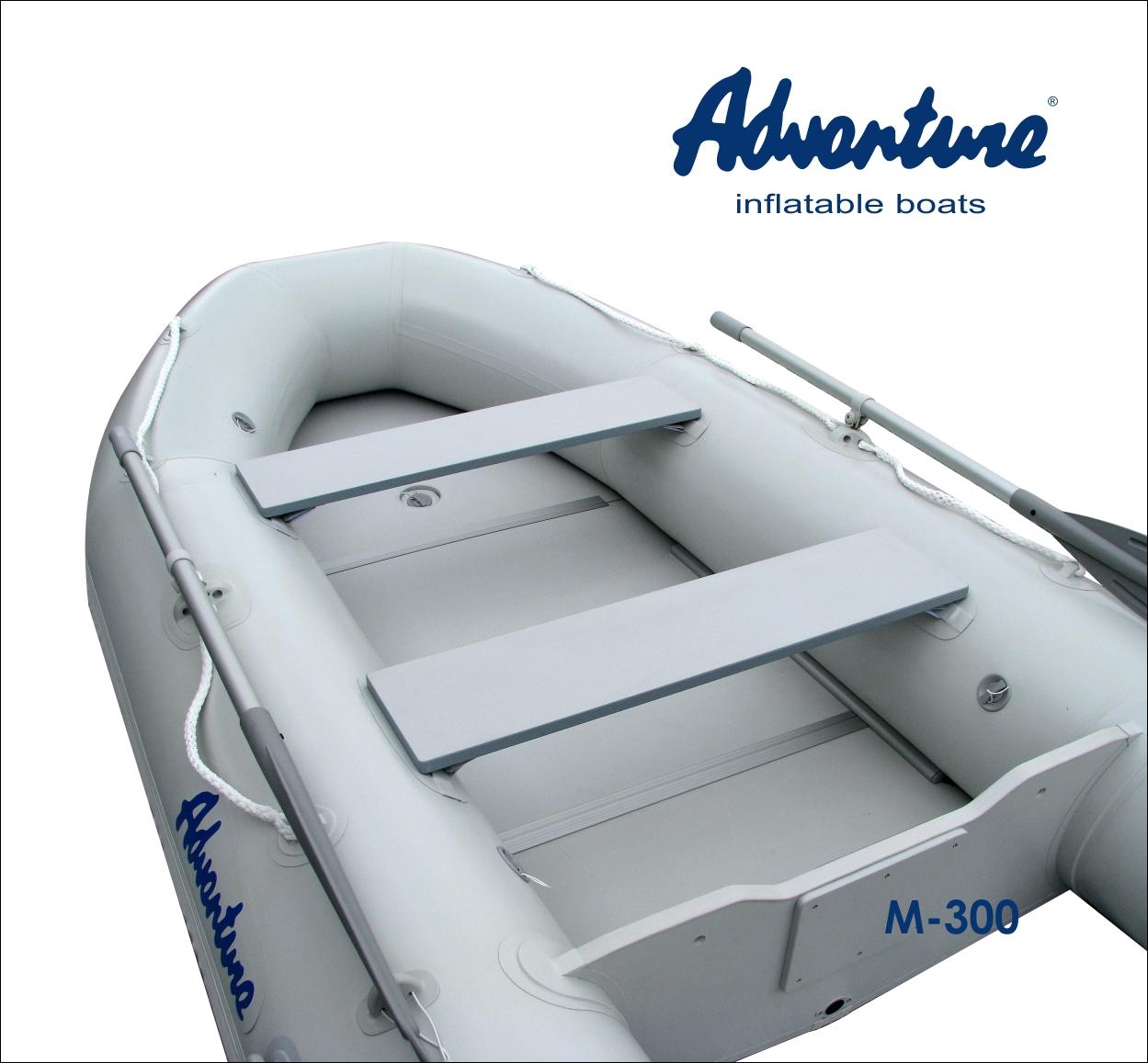 Nafukovací čluny Adventure třídy Master 1 se pyšní velkým vnitřním prostorem a propracovanou konstrukcí