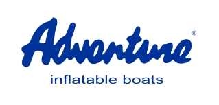 Logo ADVENTURE v aktuální podobě - originální výrobce nafukovacích motorových člunů nabízí více než 50 standardních modelů