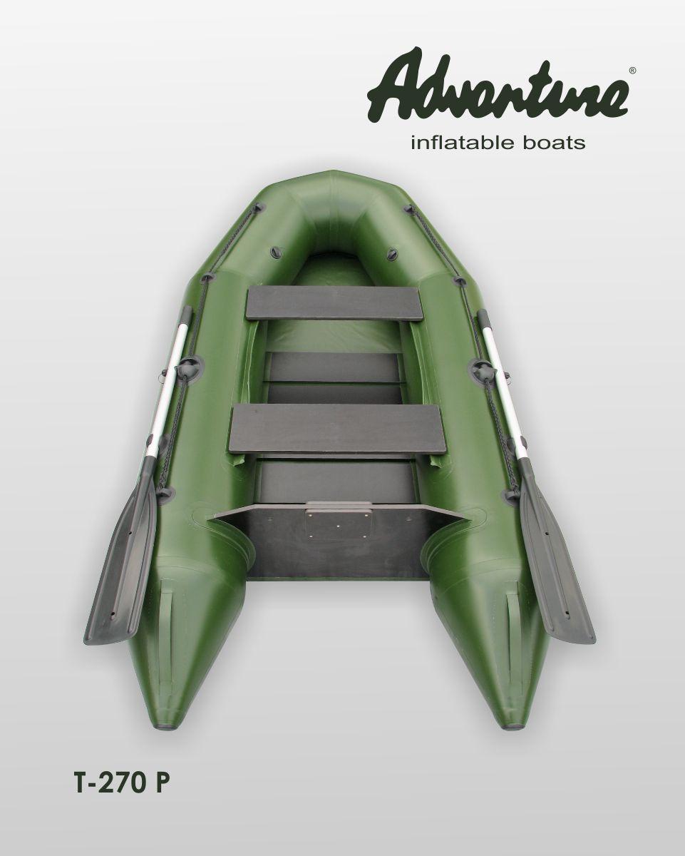 Nafukovací čluny Adventure určené především pro rybáře jsou ultra-lehké a extrémně-skladné