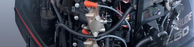 Příslušenství a náhradní díly lodních motorů Evinrude a Johnson