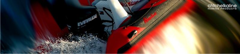 Volanty pro motorové čluny, sportovní lodě a nafukovací čluny s dálkovým ovládáním lodních motorů