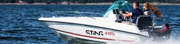 Motorový člun STiNG 485