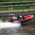 Nafukovací motorový člun RIB Adventure V-550 Luxury s lodním motorem Evinrude E-TEC E115 DPL