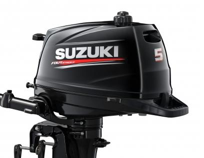 Lodní motor Suzuki DF5 AS je snad nejdůležitějším lodním motorem značky
