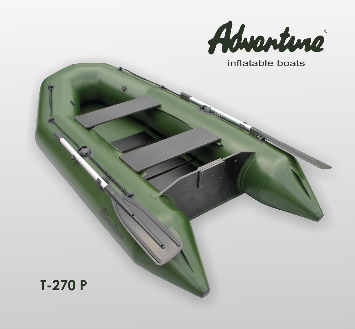 Nafukovací motorový člun Adventure T-270P rybářský