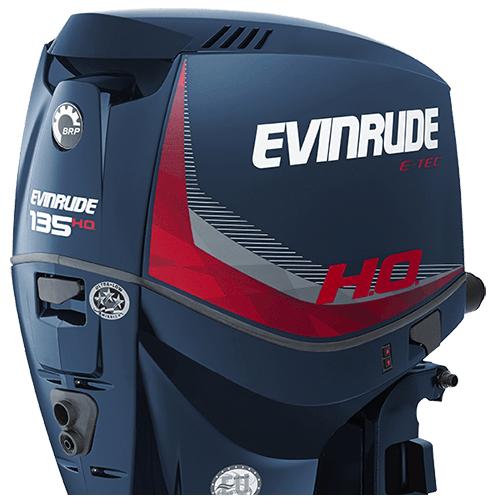 Lodní motor V6 E135 laděný na maximální výkon