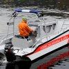 Hliníkový motorový člun S600-MULTI s výklopnou přídí pro práci na vodě