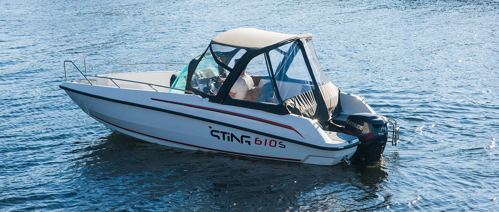 Motorový člun STiNG 610 S
