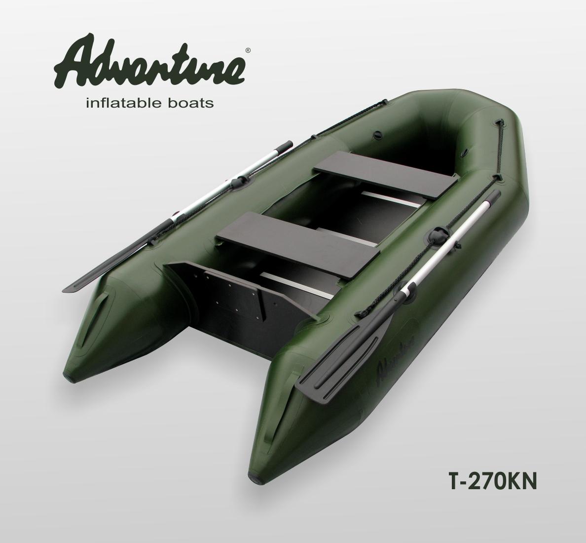 Nafukovací člun Adventure T-270KN