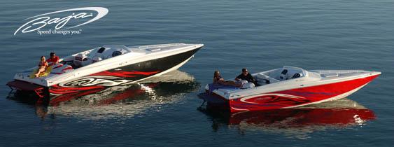 Sportovní lodě Baja | Motorové čluny s vestavěnými vysoce výkonnými motory