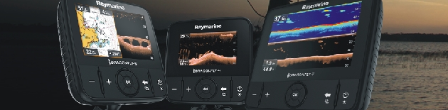 Sonary a echoloty pro lodě, vestavěná GPS navigace, combo Raymarine Dragonfly 5PRO
