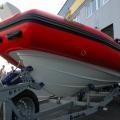 Přídní část trupu člunu Adventure V-650
